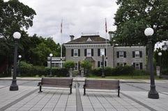 Ottawa, 26th Czerwiec: Rideau Hall miejsca budynek od Ottawa w Kanada obrazy stock