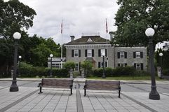 Ottawa, 26th June: Rideau Hall site building from Ottawa in Canada Stock Images