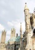Ottawa torn av parlamentet 2008 Royaltyfri Foto