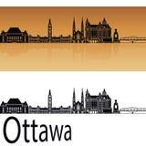 Ottawa V2 skyline Stock Photo