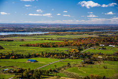 Fall color of Ottawa Valley Royalty Free Stock Photography