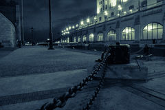 Ottawa-Verschlüsse nachts stockfotos