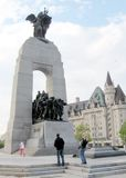 Ottawa view of War Memorial 2008 Stock Photo