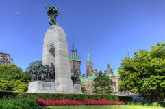 Ottawa War Memorial, Canada Stock Image