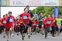 2013 Ottawa Y maraton zdjęcie royalty free