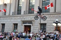 Ottawabusker-Festival Stockbild