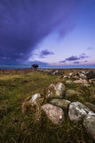 Ottenby Lighthouse Sunrise Stock Photography