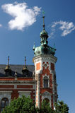 Ottendorfer´s Bibliothek in Svitavy Stockfotografie