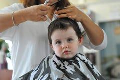 ottenere taglio di capelli Fotografia Stock Libera da Diritti