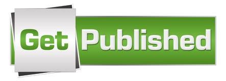 Ottenga Grey Horizontal verde pubblicato Fotografia Stock
