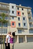 Ottenga il nuovo appartamento Immagini Stock
