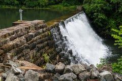 Otter湖在弗吉尼亚,美国 免版税图库摄影