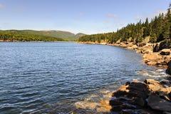 Otter-Bucht Acadia-Nationalpark Stockbilder