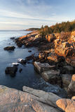 Otter Cliffs Sunrise Vertical. Sunrise at Otter Cliffs, Acadia Stock Photos