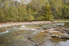 Otter Creek stream. Otter Creek in early fall Stock Image