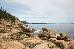 Otter-Klippe im Acadia-Nationalpark USA Lizenzfreies Stockfoto