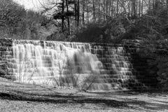 Otter Lake Dam, Blue Ridge Parkway, Virginia, USA Royalty Free Stock Images