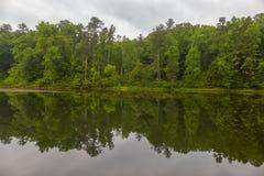 Otter See, blauer Ridge Parkway, Virginia stockfotos