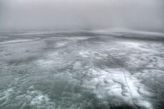 Ottertail Lake during Winter in Central Minnesota. Lakes region lol royalty free stock image