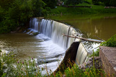 Otterville Dam - Otterville, Ontario, Canada Royalty Free Stock Photo