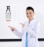 Ottico/optometrista fotografie stock libere da diritti