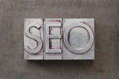 Ottimizzazione) di Search Engine - SEO Immagini Stock