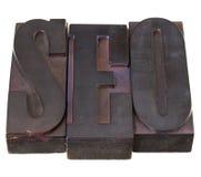 Ottimizzazione SEO di Search Engine Fotografia Stock