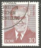 Otto Grotewohl Στοκ εικόνες με δικαίωμα ελεύθερης χρήσης
