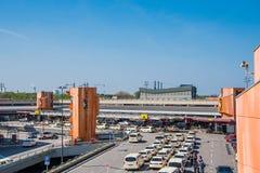 Otto Lilienthal Terminal στον αερολιμένα του Βερολίνου Tegel Στοκ φωτογραφία με δικαίωμα ελεύθερης χρήσης
