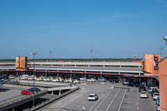 Otto Lilienthal Terminal στον αερολιμένα του Βερολίνου Tegel Στοκ φωτογραφίες με δικαίωμα ελεύθερης χρήσης