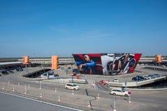 Otto Lilienthal Terminal στον αερολιμένα του Βερολίνου Tegel Στοκ Εικόνες