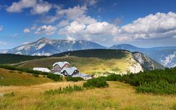 Otto mountain hut in Rax Alps Royalty Free Stock Photos