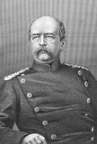 Otto von Bismarck. (1815-1898) on engraving from the 1800s. Prussian German statesman and aristocrat. Engraved by T.W.Hunt and published in London by J.S.Virtue Royalty Free Stock Image