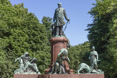 Otto von Bismarck monument Royalty Free Stock Photo