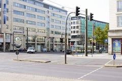 Otto von Guericke-weg Maagdenburg Royalty-vrije Stock Afbeeldingen