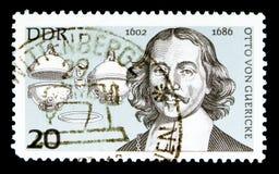 Otto Von Guericke, wichtiges Persönlichkeiten serie, circa 1977 Lizenzfreie Stockbilder