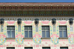 Otto Wagner Architecture Art Nouveau Βιέννη Στοκ Φωτογραφία
