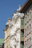 Otto Wagner Architecture Art Nouveau Βιέννη Στοκ Εικόνες