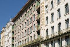 Otto Wagner Architecture Art Nouveau Βιέννη Στοκ φωτογραφίες με δικαίωμα ελεύθερης χρήσης