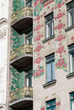 Otto Wagner architecture, art nouveau Stock Photography