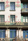 Otto Wagner architecture, art nouveau Royalty Free Stock Photos