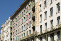Otto Wagner Architecture Art Nouveau Vienna Fotos de archivo libres de regalías