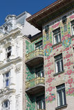 Otto Wagner Architecture Art Nouveau Vienna Stock Image