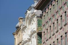 Otto Wagner Architecture Art Nouveau Vienna Stock Images