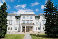 Otto Wagner Building in Vienna, Austria Royalty Free Stock Photography
