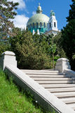 Otto Wagner church Vienna Stock Photo