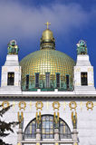 Otto Wagner Church, Vienna Stock Images