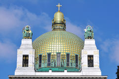 Free Otto Wagner Church, Vienna Royalty Free Stock Photography - 29632707