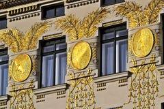 Otto Wagner dom, Wien Obraz Royalty Free