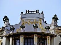 Otto Wagner Haus Wien Arkivfoto